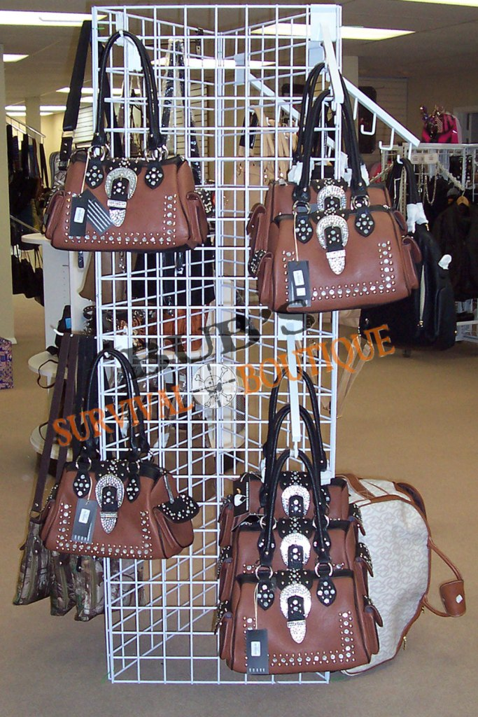 Conceal carry purses in a wide variety of styles - here's one of our faves!